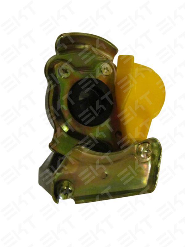 Головка соед. ПАЛМ M22x1,5 Желт без клапана